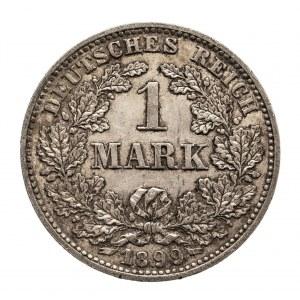Niemcy, Cesarstwo Niemieckie 1871-1918, 1 marka 1899 E, Muldenhütten