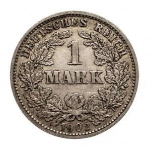 Niemcy, Cesarstwo Niemieckie 1871-1918, 1 marka 1902 J, Hamburg