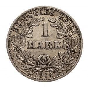 Niemcy, Cesarstwo Niemieckie 1871-1918, 1 marka 1903 F, Stuttgart
