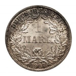 Niemcy, Cesarstwo Niemieckie 1871-1918, 1 marka 1907 A, Berlin