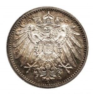 Niemcy, Cesarstwo Niemieckie 1871-1918, 1 marka 1914 A, Berlin