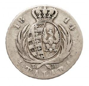 Księstwo Warszawskie 1807-1815, 1/3 TALARA 1814, Warszawa.