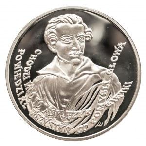 Polska, Rzeczpospolita od 1989 r., 10 złotych 1999, 150. rocznica śmierci Juliusza Słowackiego (1809-1849)