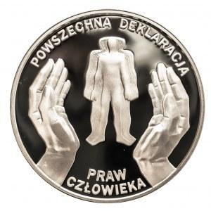 Polska, Rzeczpospolita od 1989 r., 10 złotych 1998, Powszechna Deklaracja Praw Człowieka