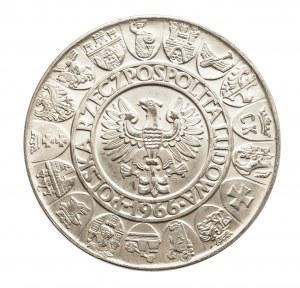 Polska, PRL 1944-1989, 100 złotych 1966 Mieszko i Dąbrówka, srebro (4)