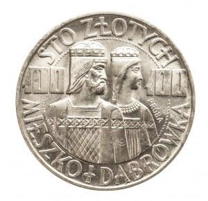 Polska, PRL 1944-1989, 100 złotych 1966 Mieszko i Dąbrówka,