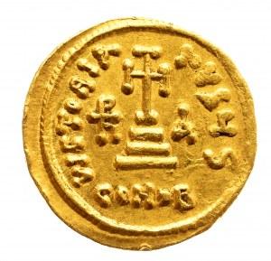 Bizancjum, Heraclius, Heraclius Constantinus i Heraclonas 638-641, solidus, Konstantynopol