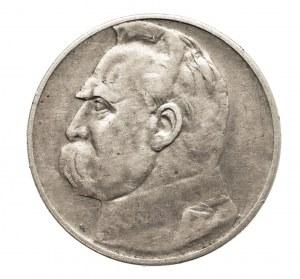 Polska, II Rzeczpospolita 1918-1939, 2 złote 1936 Piłsudski, Warszawa, RRR !