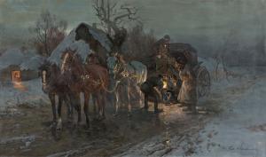 Ignacy Zygmuntowicz, Nocna przygoda zkołem