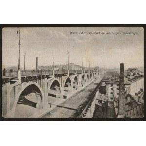 Warszawa, Wiadukt do mostu Poniatowskiego
