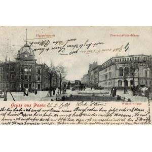 Poznań, Gruss aus Posen 1904