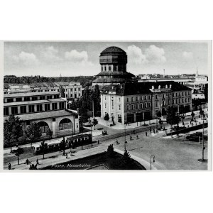 Poznań, Posen. Messehallen, po 1939 r.