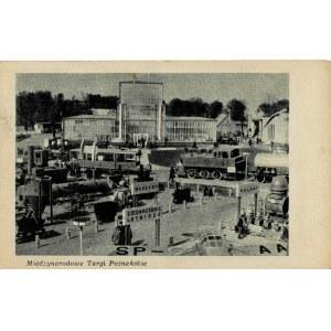 Poznań, Targi 3 kartki z lat 50-tych. Stemple