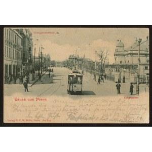 Poznań, Gruss aus Posen. Tiergartenstrasse
