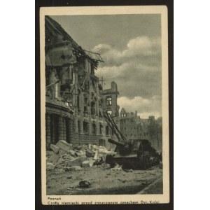 Poznań zniszczony