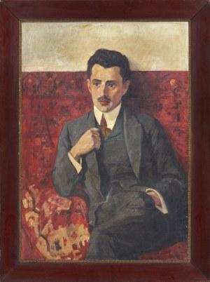 Józef Mehoffer (1869-1946), Portret mężczyzny, 1919