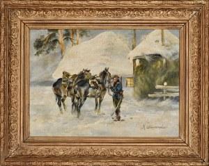Marian Adamczewski (1879-1947), Patrol