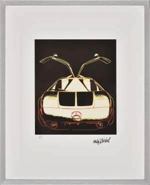 Andy Warhol (1928-1987), Mercedes C111, 1986