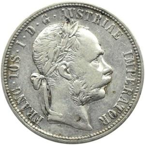 Austro-Węgry, Franciszek Józef I, 1 floren 1882, Wiedeń