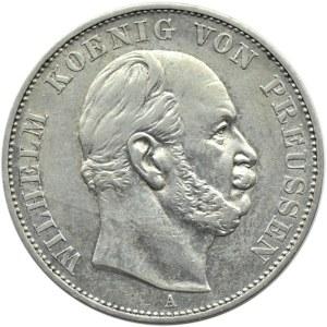 Niemcy, Prusy, Wilhelm I, talar 1871 A, Berlin