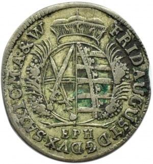 Niemcy, Saksonia, Fryderyk August, 1/12 talara 1695 E.P.H., Lipsk