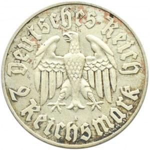 Niemcy, III Rzesza, M. Luther, 2 marki 1933 A, Berlin
