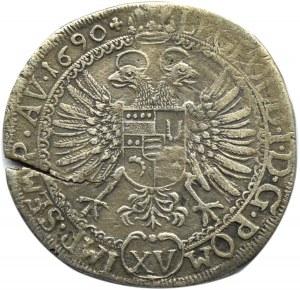 Szwajcaria, Haldenstein, Jerzy Filip, 15 krajcarów (1/4 guldena) 1690