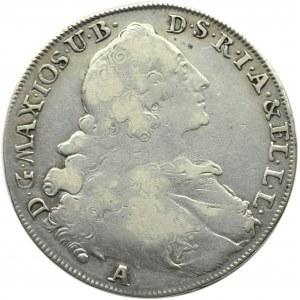Niemcy, Bawaria, Maksymilian Józef, talar 1768 A, Amberg