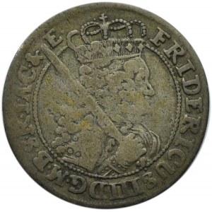 Niemcy, Prusy, Fryderyk III, ort 1699 SD, Królewiec