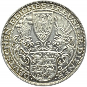 Niemcy, Medal Paul von Hindenburg (1847-1927), srebro, Monachium