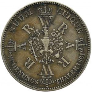 Niemcy, Prusy, Talar koronacyjny 1861, Wilhelm i Augusta, Berlin