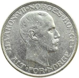 Norwegia, Haakon VII, 2 korony 1913, rzadkie