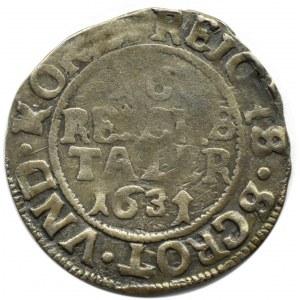 Pomorze, Strzałów, 1/16 talara 1631, Strzałów (Stralsund)