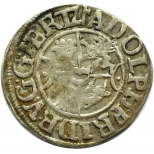Niemcy, Meklemburgia, Adolf Fryderyk, podwójny szyling 1615, Gadebusch