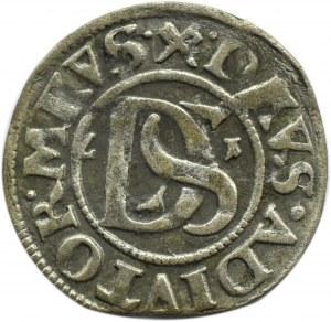 Pomorze, Szczecin, Bogusław XIV, podwójny szeląg 1621, haki, Szczecin