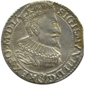 Zygmunt III Waza, szóstak 1596, Malbork, ładny