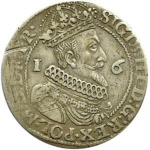 Zygmunt III Waza, ort 1624, Gdańsk, przebitka daty