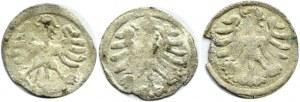 Aleksander I Jagiellończyk, lot 3 denarów litewskich, Wilno