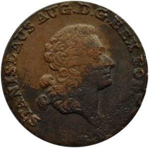Stanisław A. Poniatowski, trojak 1794 M.V., Warszawa, ładny