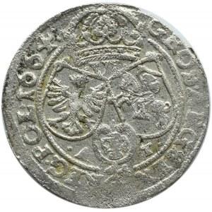 Jan II Kazimierz, szóstak 1664 AT, Bydgoszcz