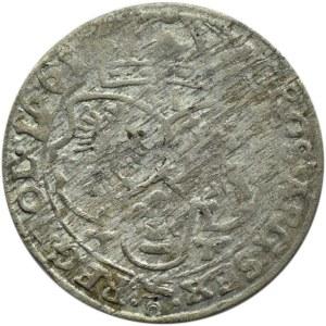 Jan II Kazimierz, szóstak 1661 TT, Bydgoszcz, odmiana z obwódkami (R)