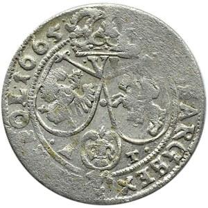 Jan II Kazimierz, szóstak 1665 AT, Bydgoszcz