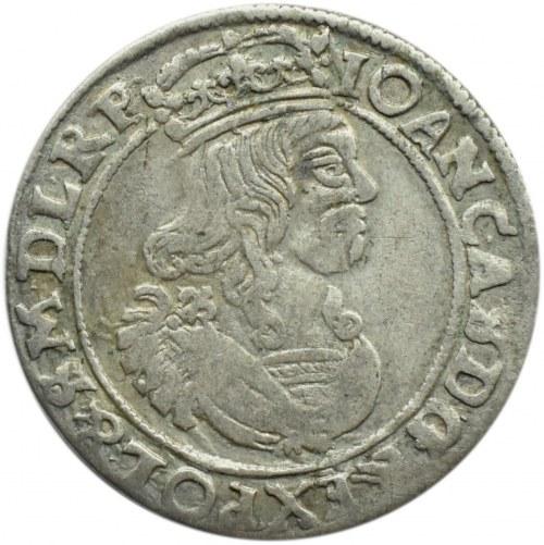 Jan II Kazimierz, szóstak 1663 AT, Bydgoszcz IOAN CAS....SMDLRP