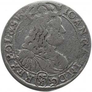 Jan II Kazimierz, szóstak 1667 TLB, Bydgoszcz, (R) ....SVE