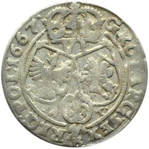 Jan II Kazimierz, szóstak 1667 AT, Bydgoszcz