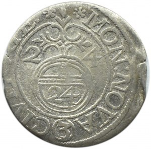 Okupacja szwedzka, Gustaw II Adolf, półtorak 1624, Ryga