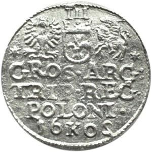 Zygmunt III Waza, trojak 1602 - obrócona
