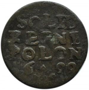 Zygmunt III Waza, szeląg koronny 1622, Kraków