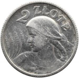 Polska, II RP, Kłosy, 2 złote 1924, Paryż