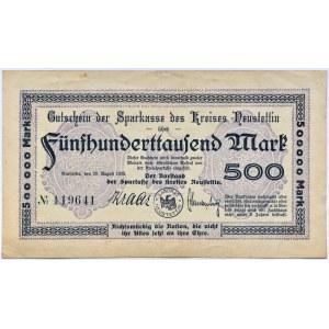 Neustettin, Szczecinek, 500 000 marek 1923, rzadkie